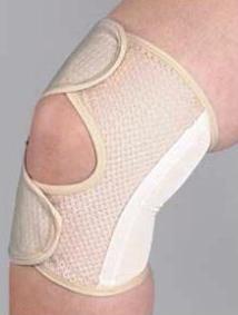 薄型メッシュひざサポーター